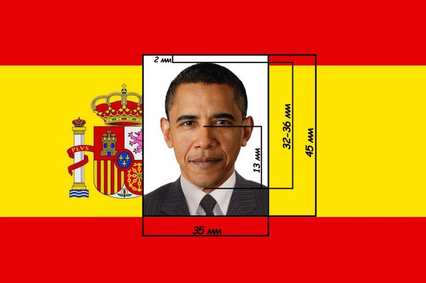 фото на визу Испания