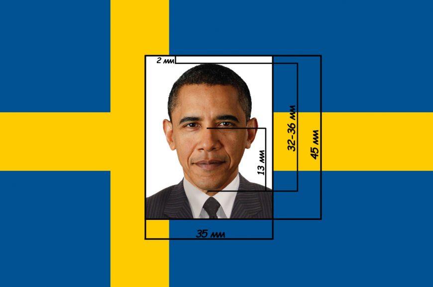 фото на визу Швеция
