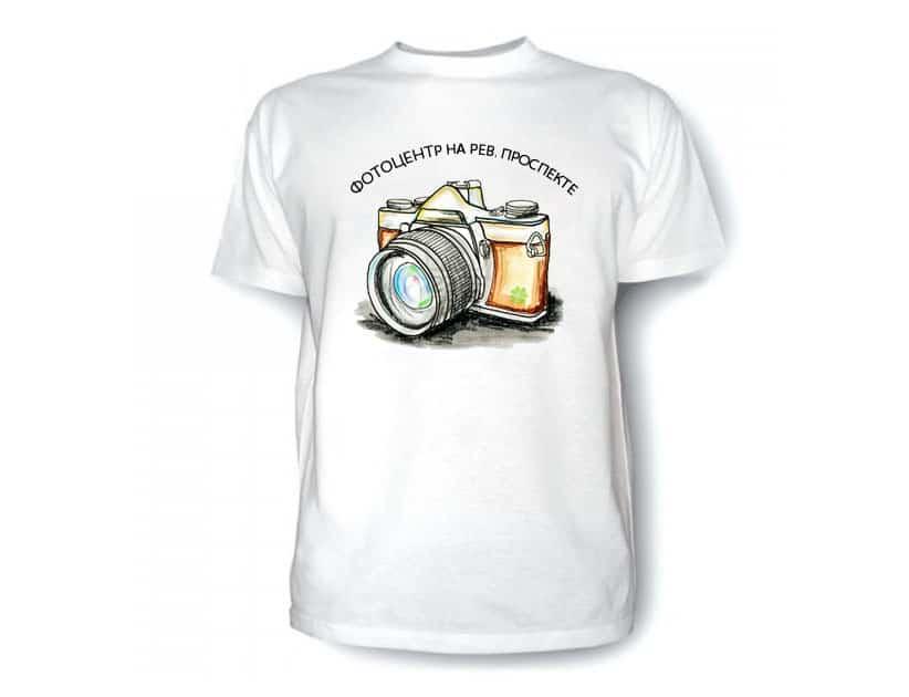 Фото на футболку в Подольске