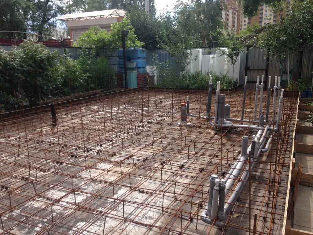 Фундамент под пенопластовый дом