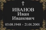 Примеры оформления ритуальных табличек