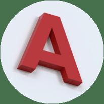 Объемные буквы без подсветки днем