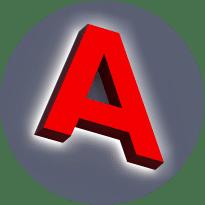 Объемные буквы с лицевой и контражурной подсветкой
