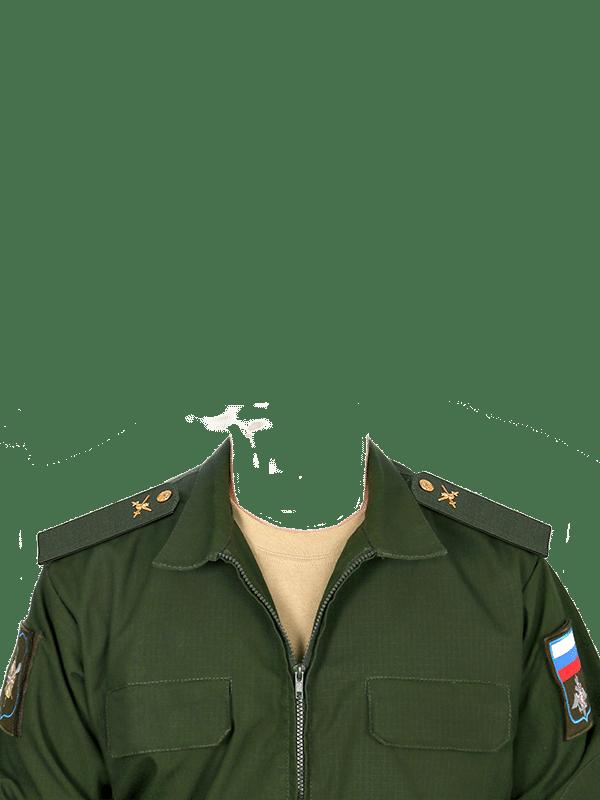 замена одежды на военную форму