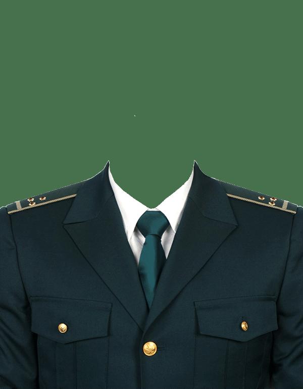 замена одежды на форму старшего лейтенанта таможенной службы