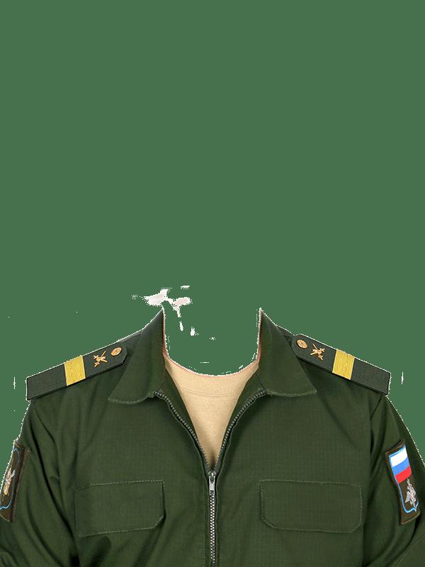 замена одежды на военную форму старшего сержанта