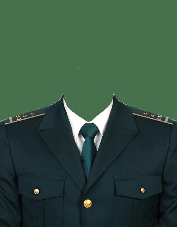 замена одежды на форму капитана таможенной службы