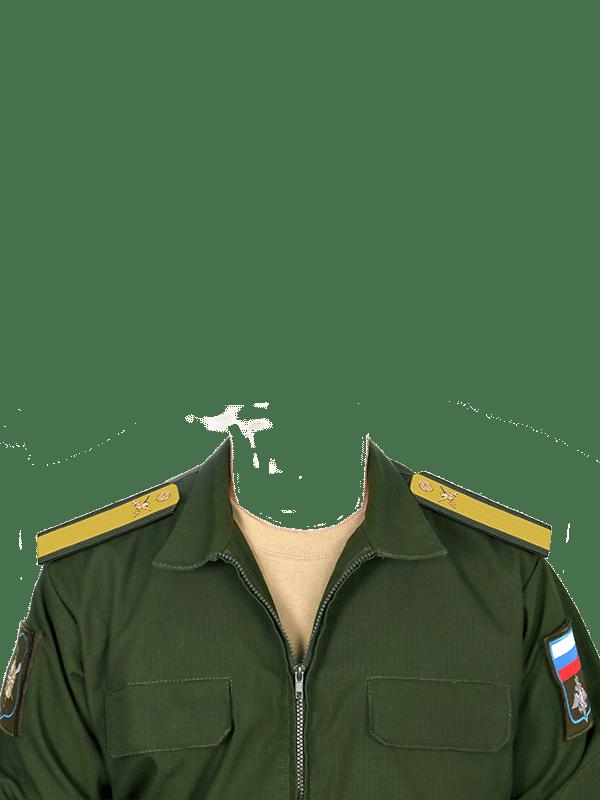 замена одежды на военную форму старшины