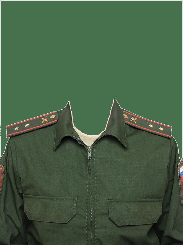 замена одежды на военную форму прапорщика