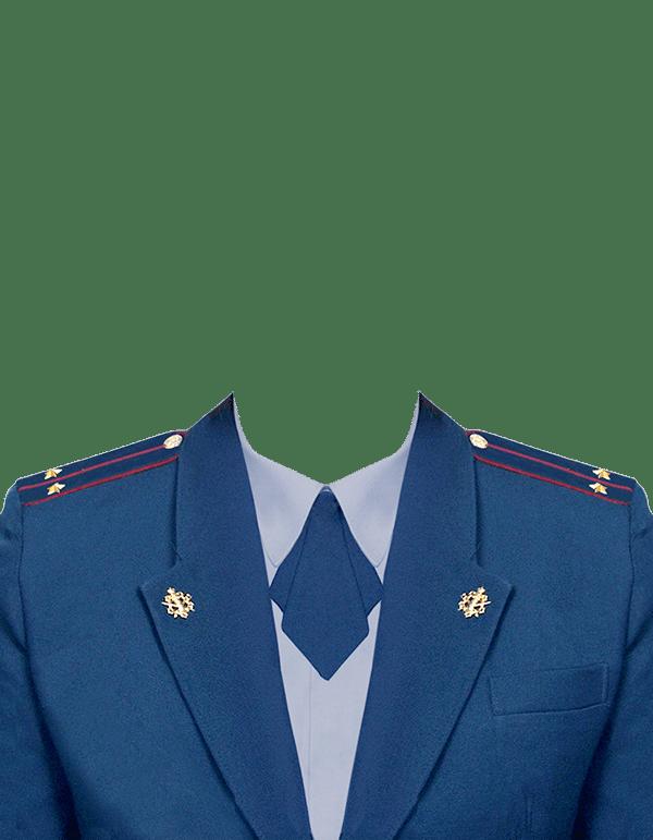 фото на документы в форме лейтенанта ФСИН