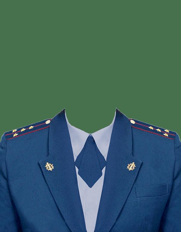 фото на документы в форме капитана ФСИН