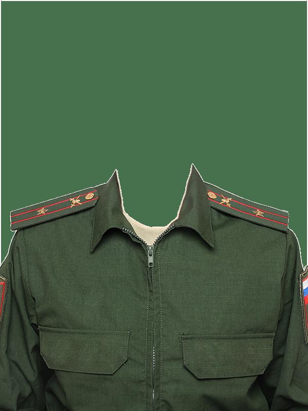 замена одежды на военную форму майора