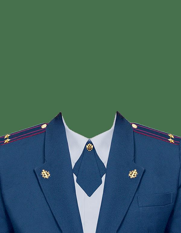 фото на документы в форме подполковника ФСИН