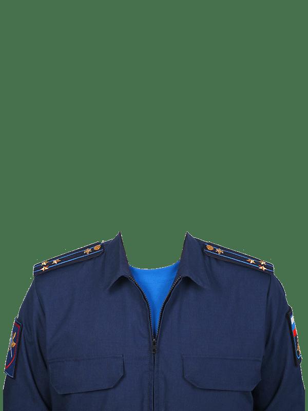 замена одежды на форму полковника ВВС