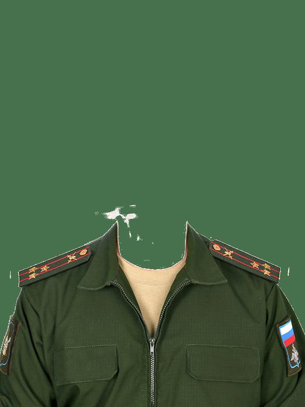 замена одежды на военную форму полковника
