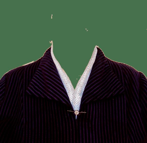 замена одежды на женский костюм на фото