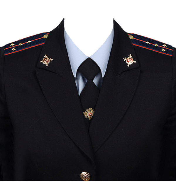 фото на документы в форме капитана полиции