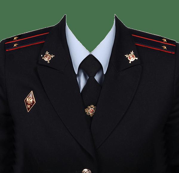 фото на документы в форме лейтенанта полиции