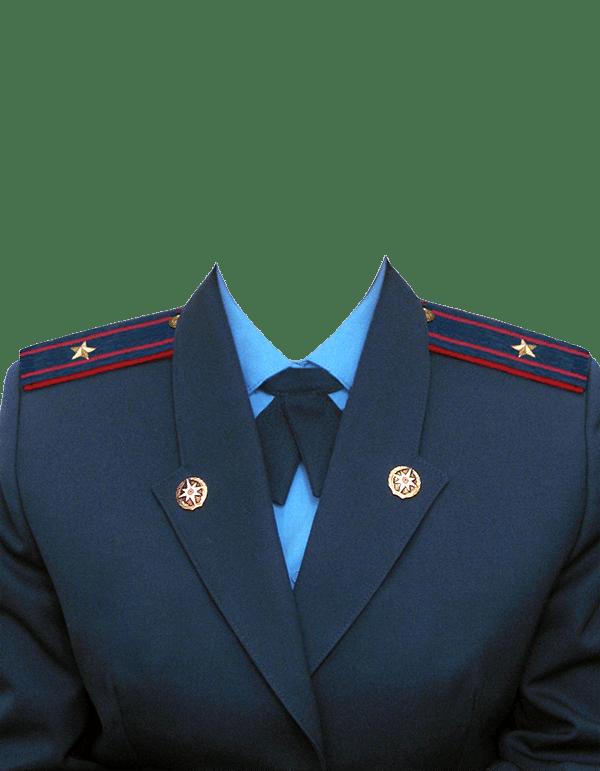 замена одежды на форму майора МЧС