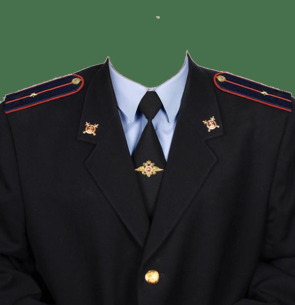 фото на документы в форме младшего лейтенанта полиции