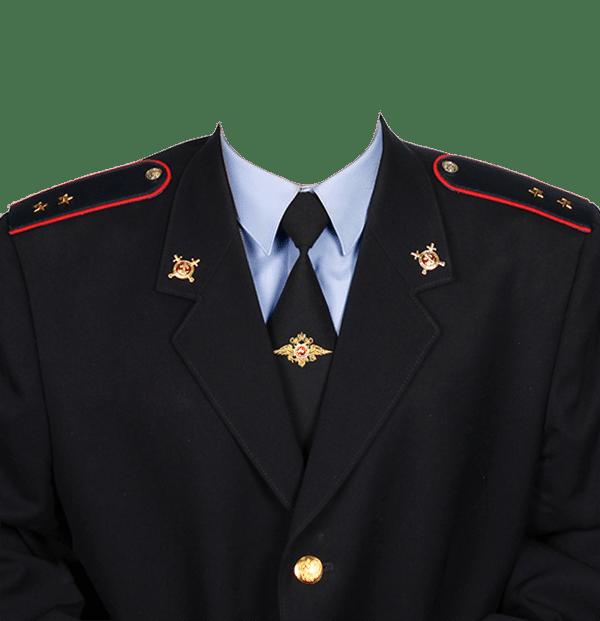 фото на документы в форме прапорщика полиции