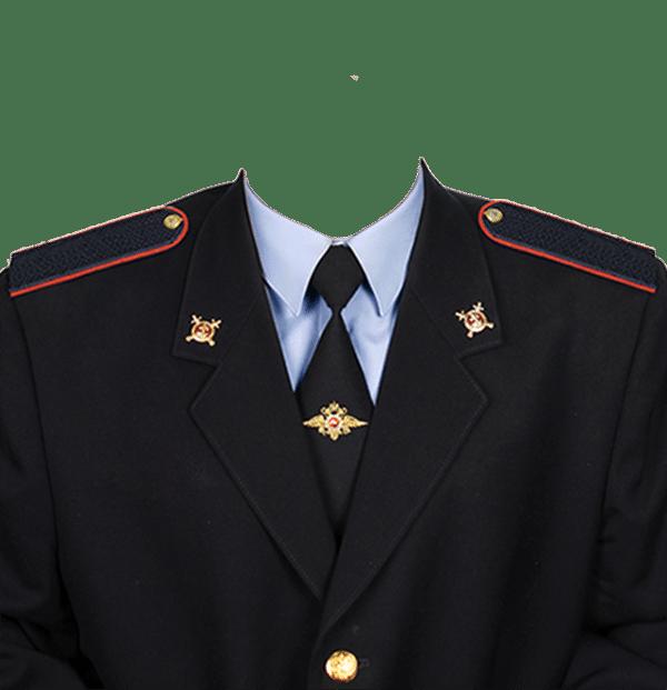 фото на документы в форме рядового полиции