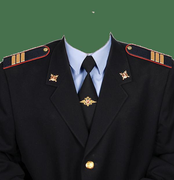 фото на документы в форме сержанта полиции