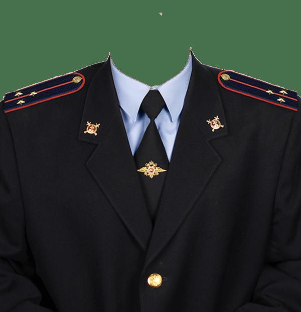 фото на документы в форме старшего лейтенанта полиции