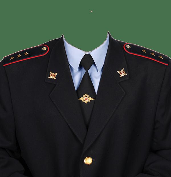 фото на документы в форме старшего прапорщика полиции
