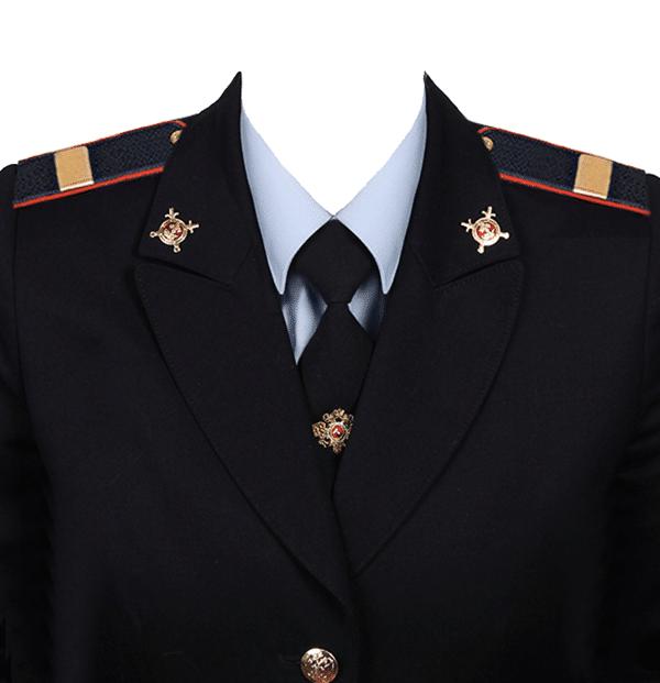 фото на документы в форме старшего сержанта полиции