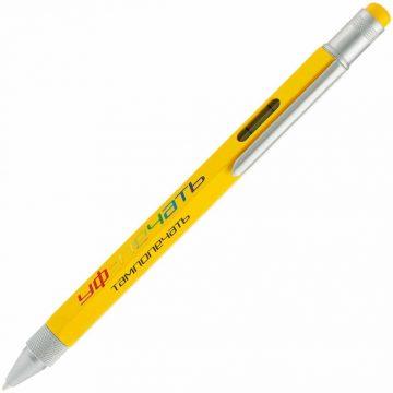 Металлическая ручка с напечатанным логотипом