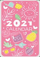Дизайн карманного календаря