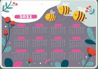 Пример карманного календарика