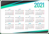 Пример карманного календаря