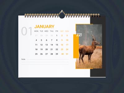 Дизайн для настенного календаря