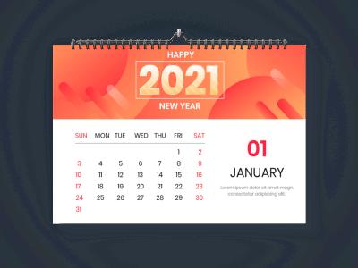 Пример настенного календаря