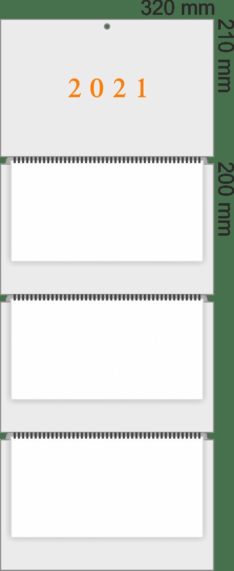 Квартальный календарь трио Комфорт